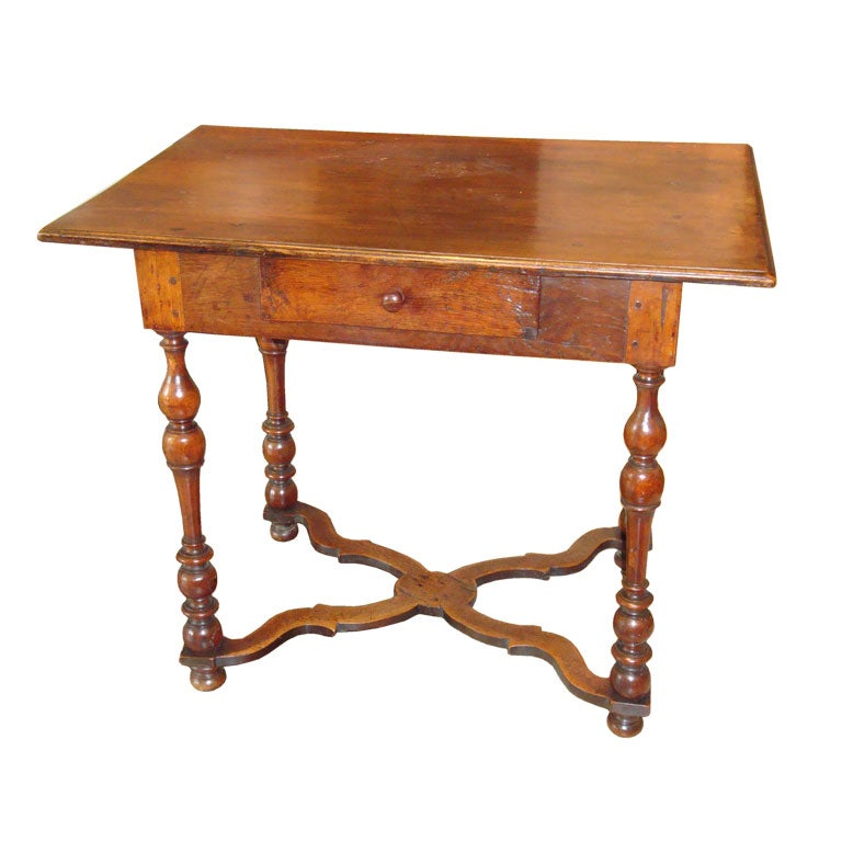 18th c louis xiii side table at 1stdibs. Black Bedroom Furniture Sets. Home Design Ideas