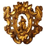 Carved and Gilded Fragment