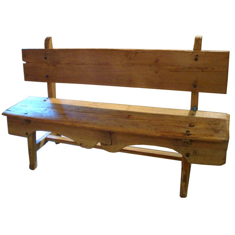 Antique Mexican Bench At 1stdibs