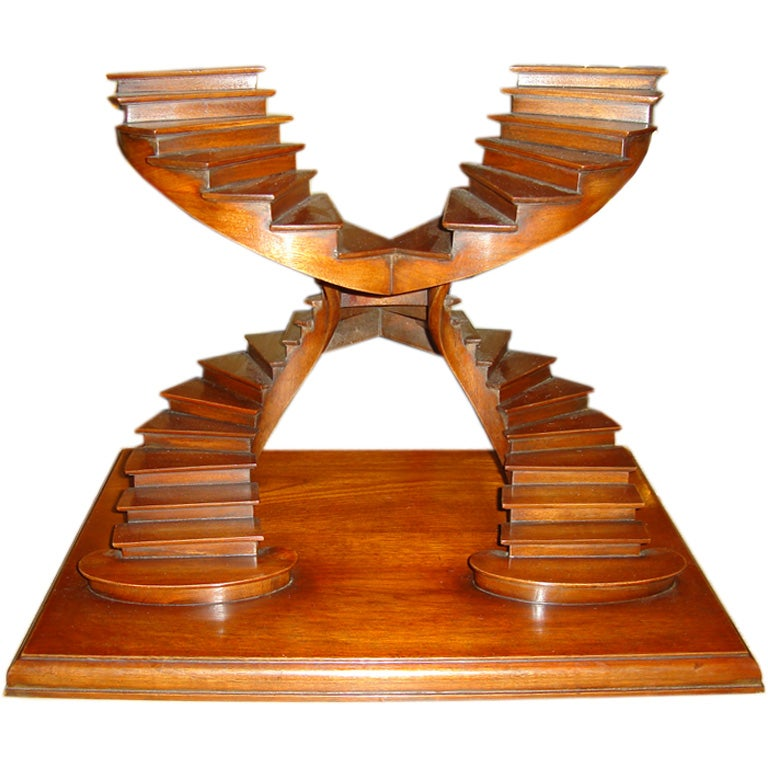 Double Spiral Stair Case Maquette At 1stdibs