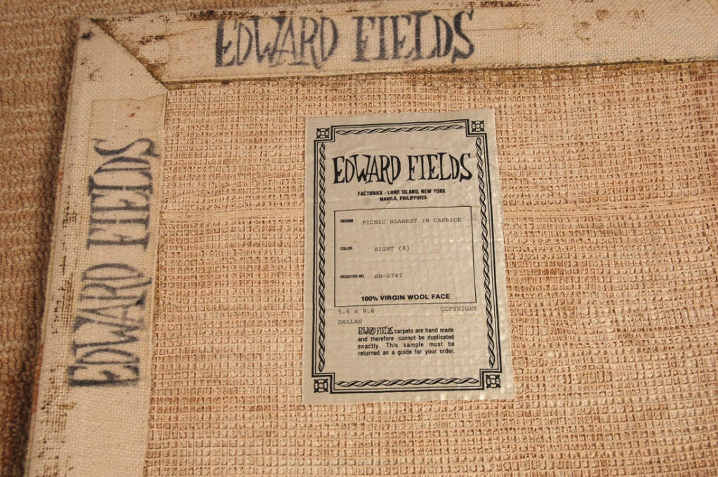 Edward Fields Area Rugs At 1stdibs
