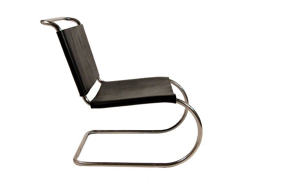 Mr lounge chair by mies van der rohe at 1stdibs