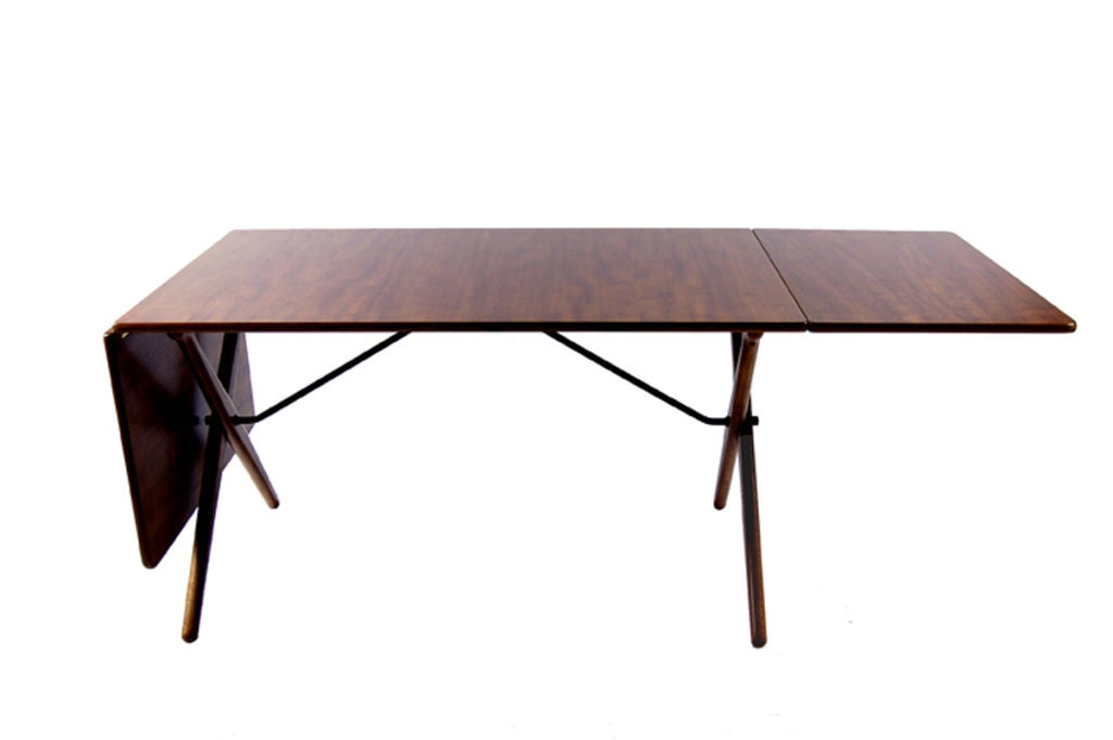Drop Leaf Dining Table By Hans Wegner At 1stdibs