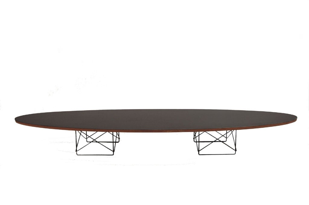 Original Surfboard Table By Charles Eames At 1stdibs