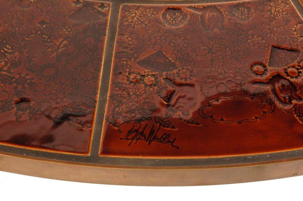 Danish Coffee Table by Bjorn Wiinblad For Sale