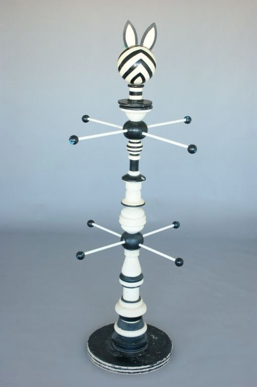 Coat Stand in the Style of Alexander Girard For Sale 3