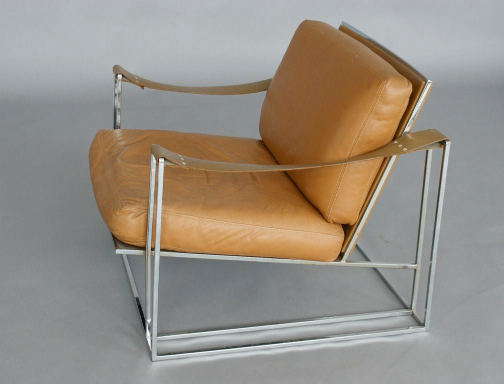 Milo Baughman Lounge Chair image 6