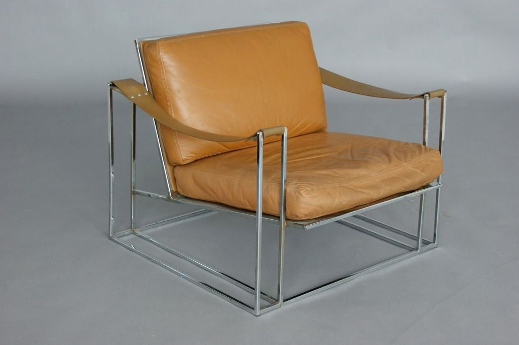 Milo Baughman Lounge Chair image 5