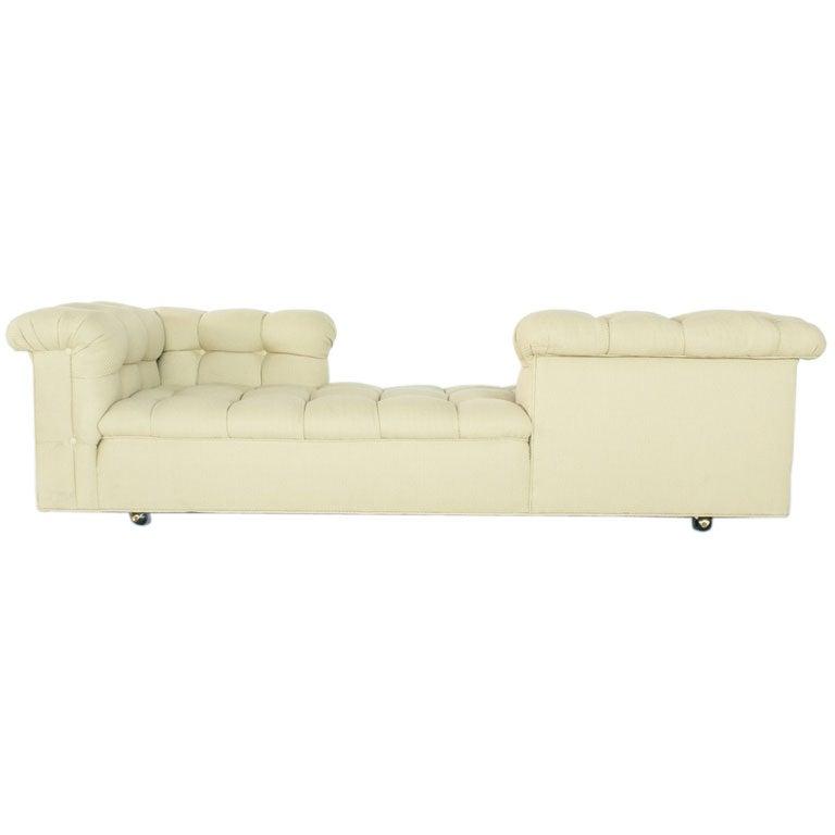 Edward Wormley Tete A Tete Sofa For Dunbar At 1stdibs