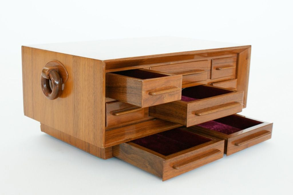 Eight Drawer Jewelry Chest At 1stdibs