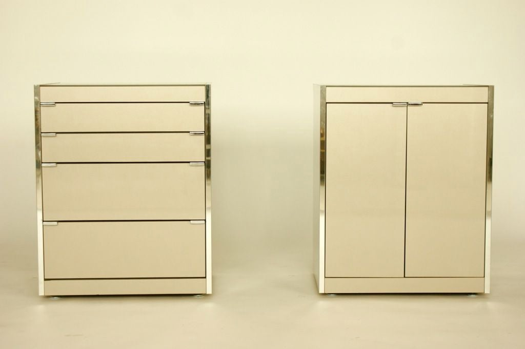 Mid-Century Modern Ello Nightstands or Cases For Sale