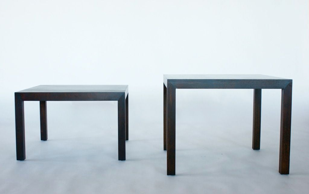 Edward Wormley End Tables For Sale 5