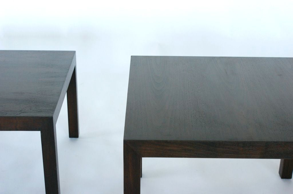 Mid-20th Century Edward Wormley End Tables For Sale