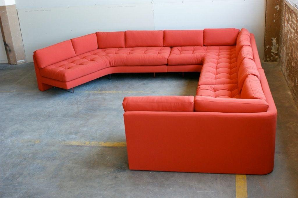 Vladimir Kagan three piece Omibus sofa sectional For Sale 2