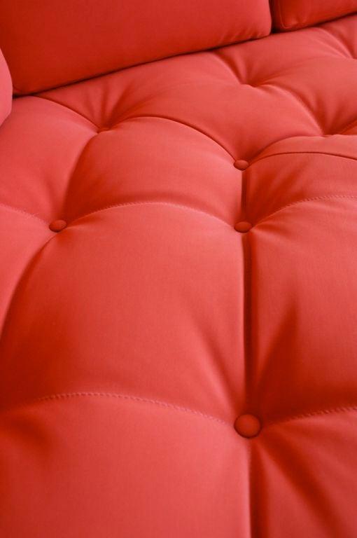 Lucite Vladimir Kagan three piece Omibus sofa sectional For Sale