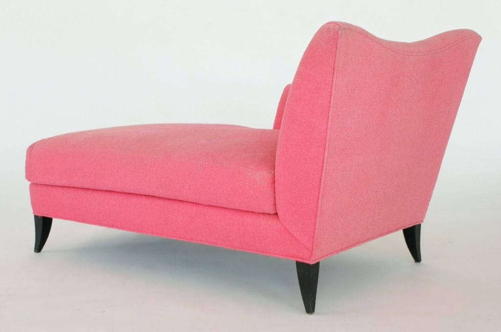 Pink chaise by betty m chicago merchandise mart at 1stdibs for Chaise lounge chicago