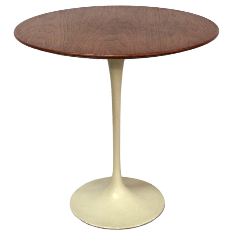 walnut top tulip table at 1stdibs. Black Bedroom Furniture Sets. Home Design Ideas
