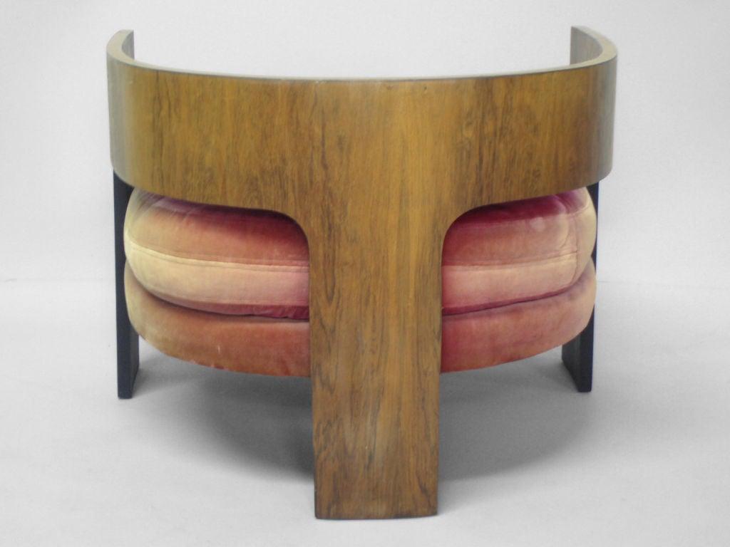Milo Baughman Barrel Chair