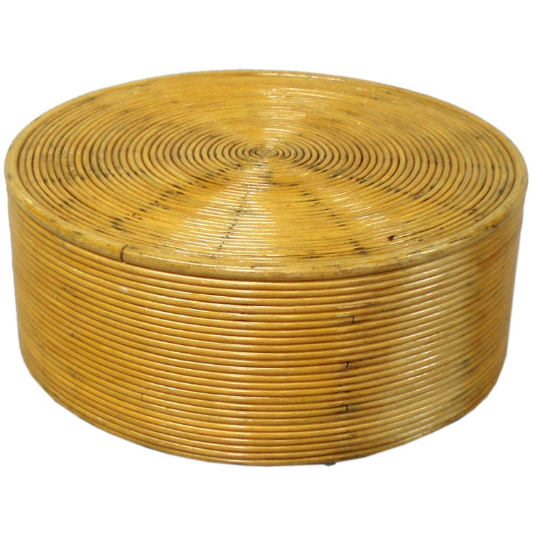 Id F_226521 on Ficks Reed Rattan Coffee Table