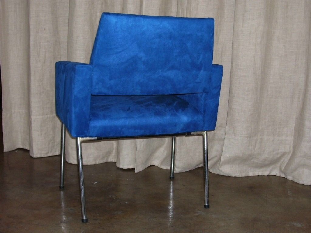 Mid-Century Modern Set of Four Armchairs by Kay Korbing For Sale