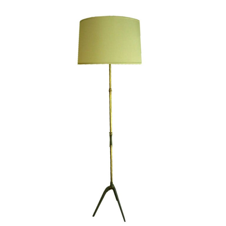 French 1960s Floor Lamp