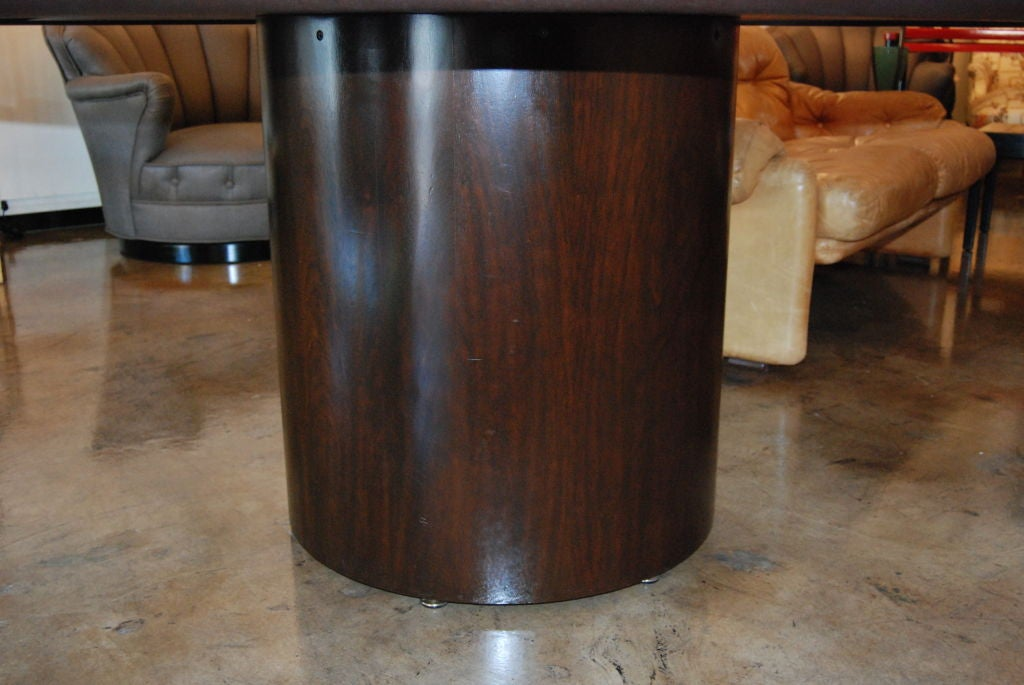 American Edward Wormley for Dunbar Round Dining or Center Table For Sale
