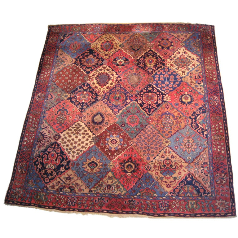 What Makes Turkish Rugs Great How You Can Read The Design Of A Turkish Rug: Antique Turkish Sparta Carpet At 1stdibs