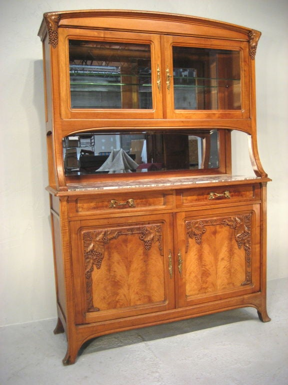 french art nouveau deux corps at 1stdibs. Black Bedroom Furniture Sets. Home Design Ideas