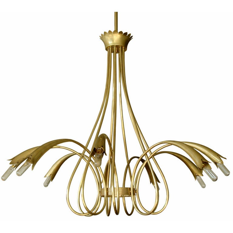 Gio Ponti Chandelier For Sale