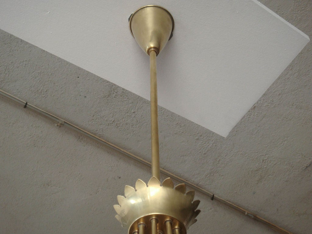 Gio Ponti Chandelier For Sale 2
