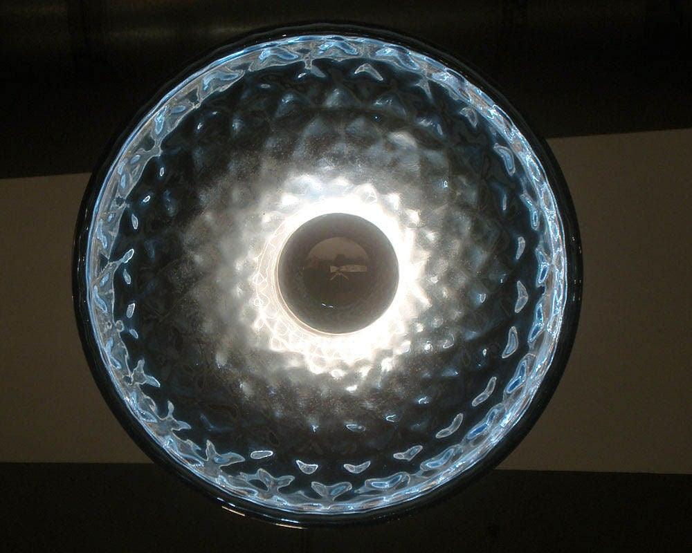 Blue Mercury Glass Pendant Lights 9