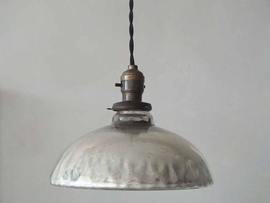 Mercury Glass Pendant Light Pictures to pin on Pinterest