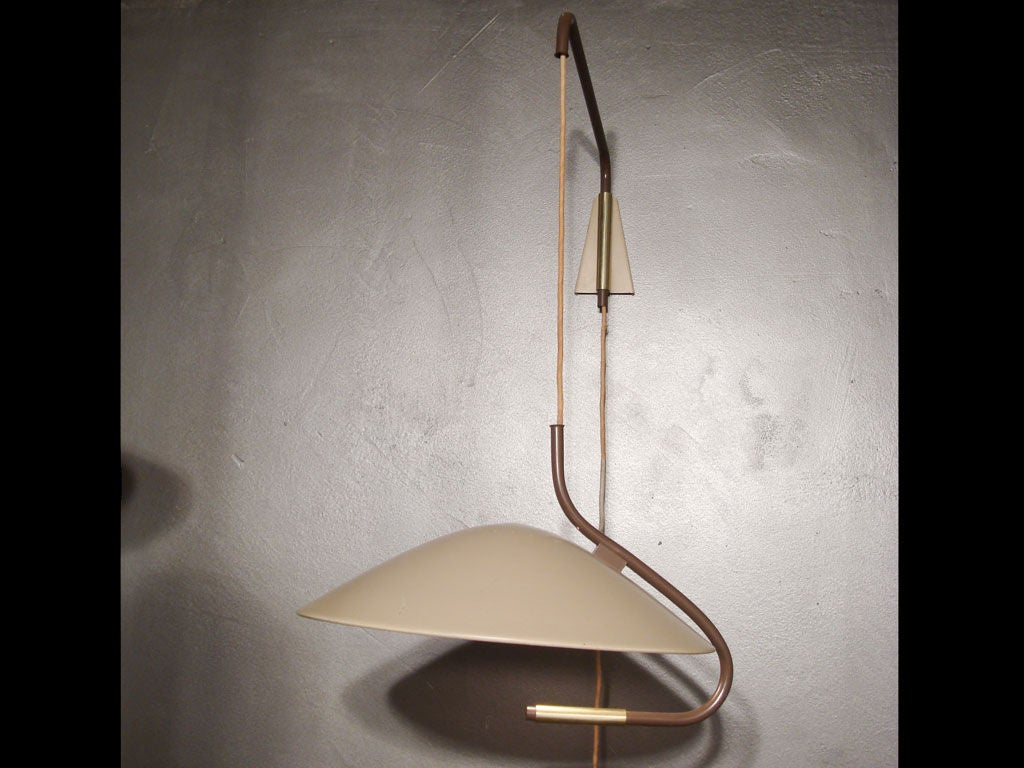 Gerald Thurston Pulley Light For Lightolier At 1stdibs