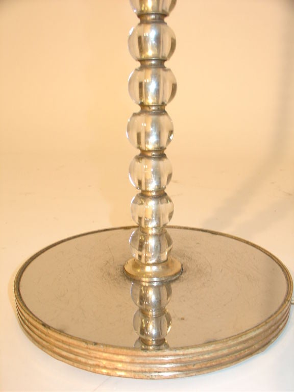 Tall Glass Bead Table Lamp At 1stdibs