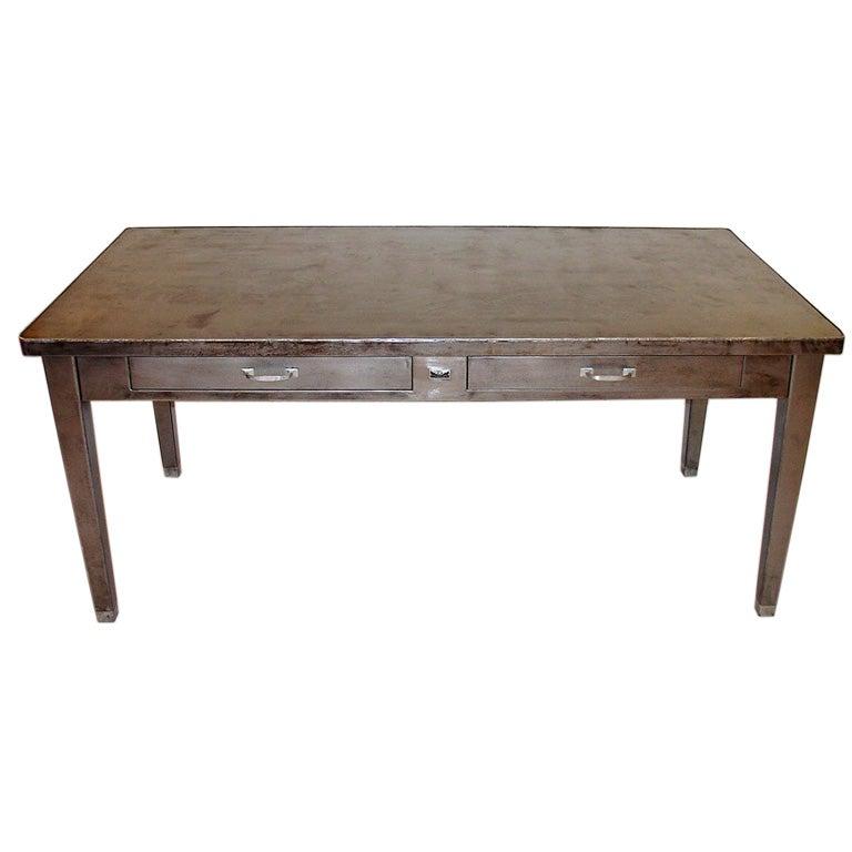 Two Drawer Steel Desk at 1stdibs : dsc00156 from 1stdibs.com size 768 x 768 jpeg 32kB
