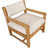 1970's Wicker Parsons Chair