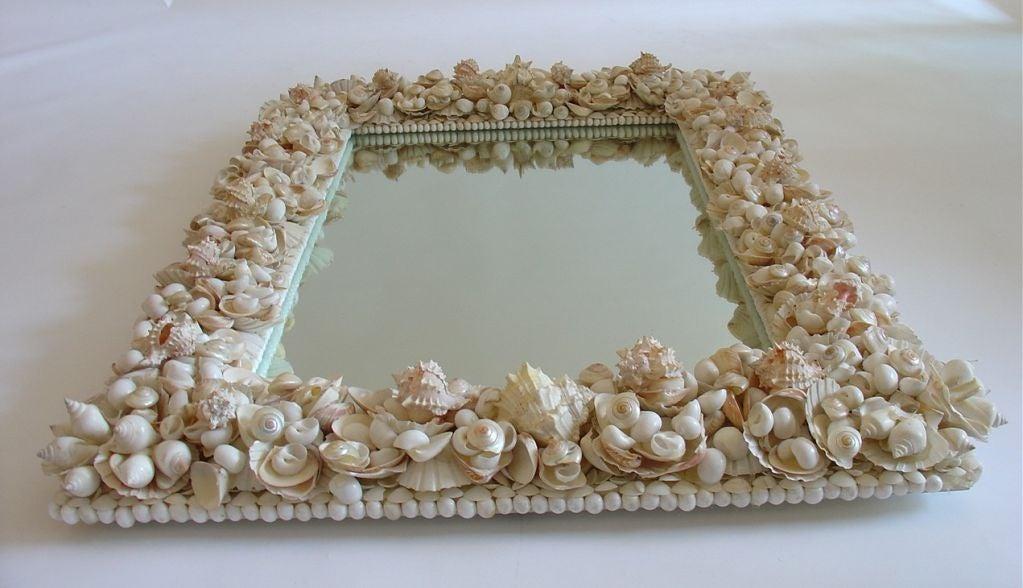 American Shell Mirror