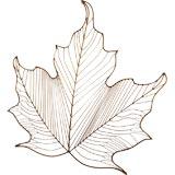 Curtis Jere Leaf Wall Sculpture
