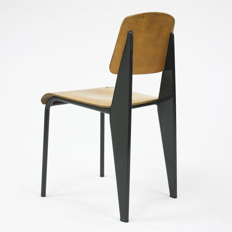 Standard chair no 305 by jean prouve at 1stdibs - Jean prouve chaise standard ...