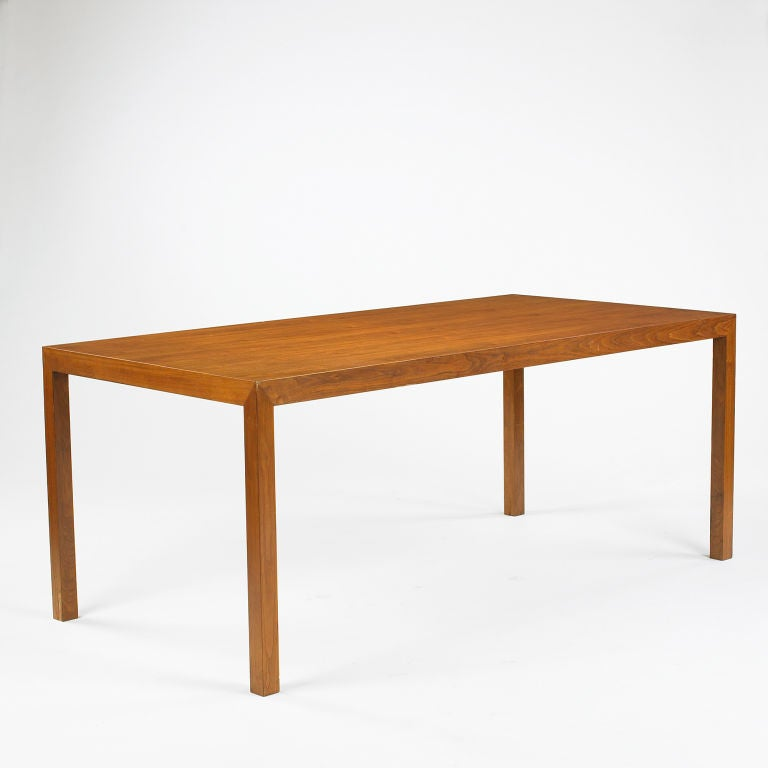 Parsons Dining Table By Edward Wormley At 1stdibs