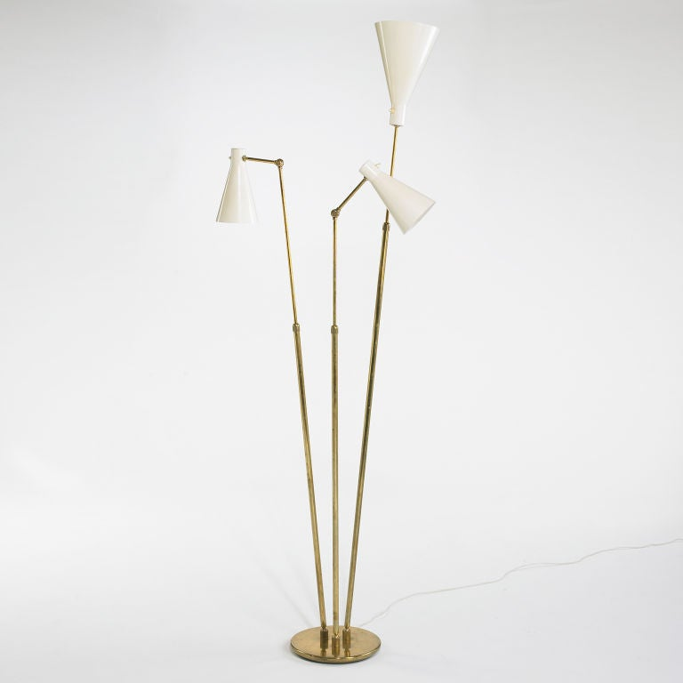 Floor Lamp By O 39 Luce At 1stdibs