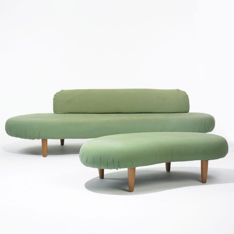 Cloud Sofa And Ottoman By Isamu Noguchi At 1stdibs