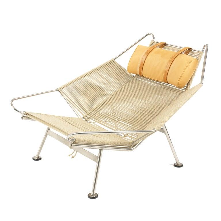 Flag Halyard lounge chair by Hans Wegner at 1stdibs
