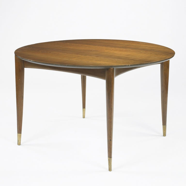 Dining table by gio ponti at 1stdibs for Dining room table 90 inch