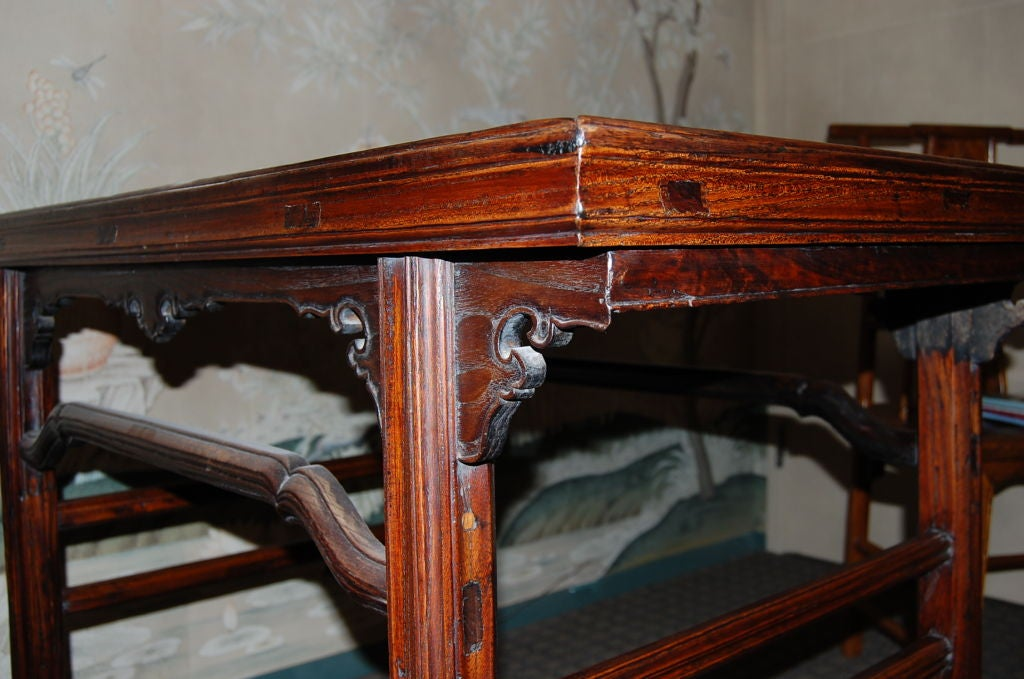 18th Century and Earlier Early 18th Century Chinese Wine Table For Sale