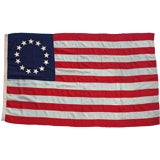 13 Stars, Betsy Ross Pattern, American Flag Co., Ny & Chicago