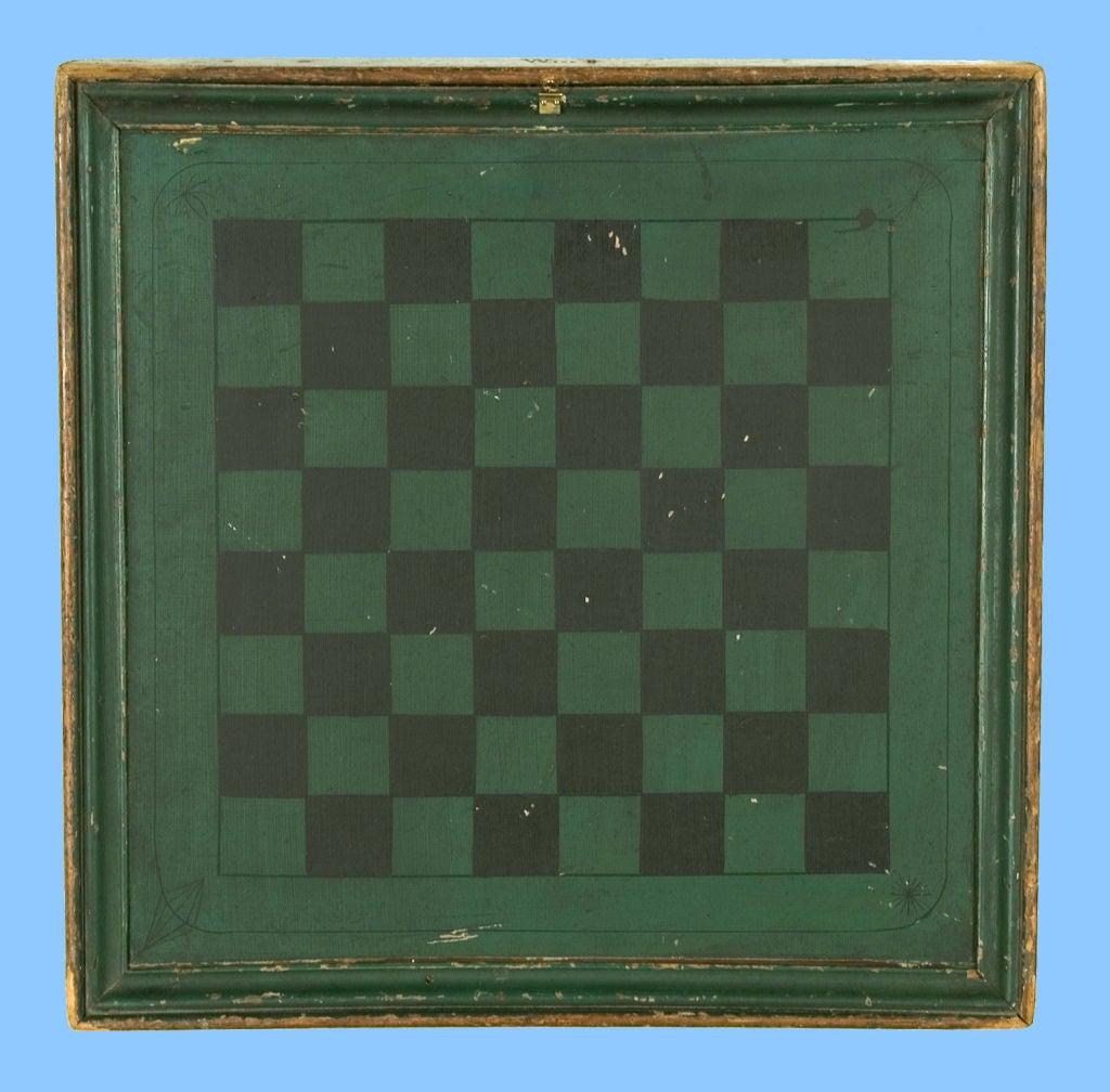 Pennsylvania Backgammon Board, Signed