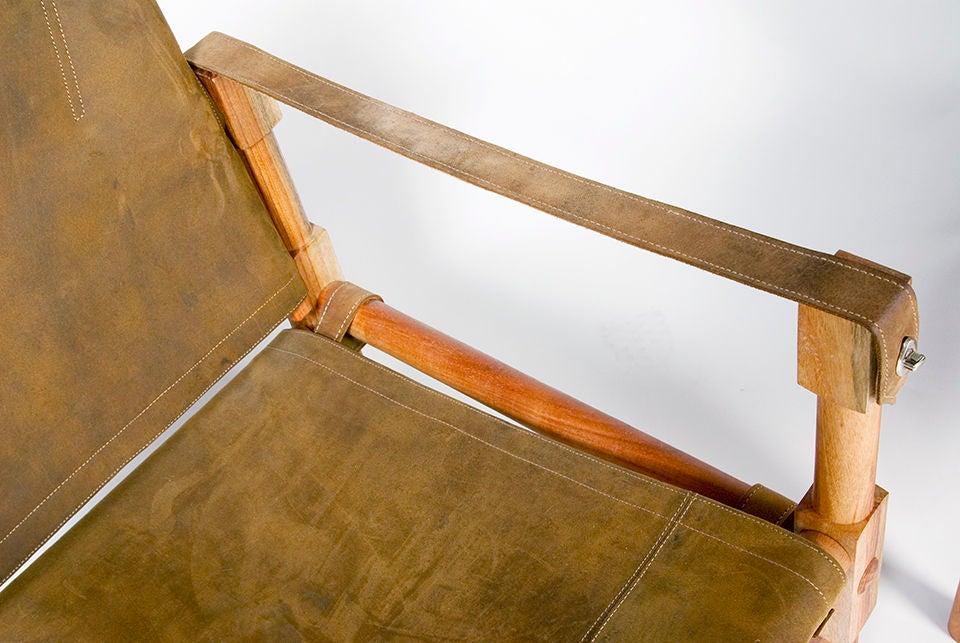 Leather Contemporary Safari Chairs