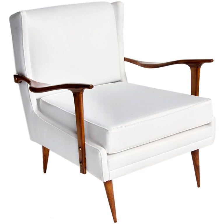 This napoleon iii club chair is no longer available - Rino Levi Palm Beach Chair 1901 1965 At 1stdibs