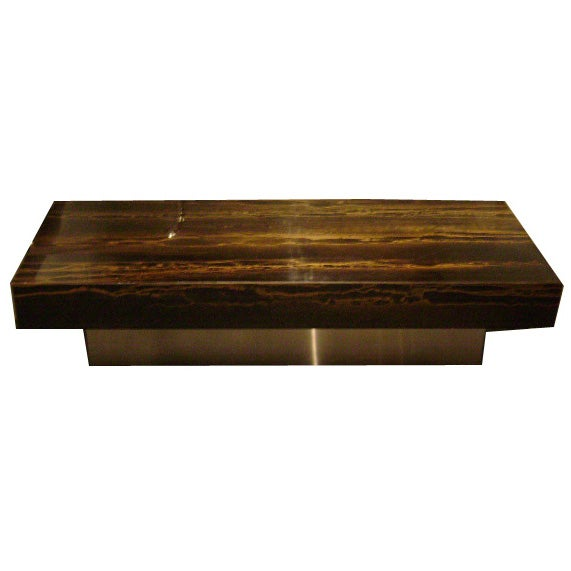 Ramsay Floating Cocktail Table At 1stdibs